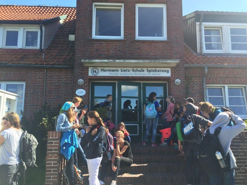 Besuch der Hermann-Lietz-Schule Spiekeroog